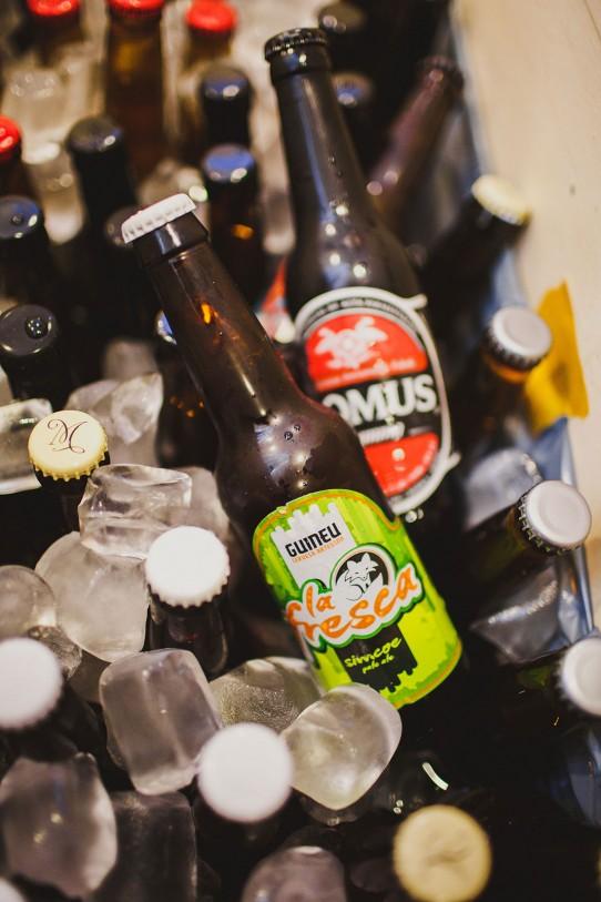 bebidas enfriando en bañera antigua boda www.bodasdecuento.com