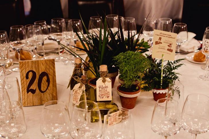 decoración mesa boda vintage www.bodasdecuento.com