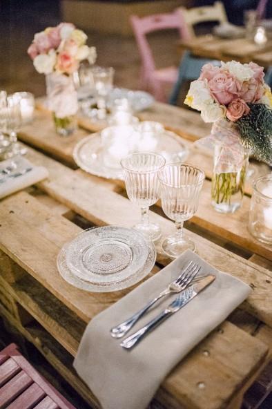 mesa de palets madera bodas www.bodasdecuento.com