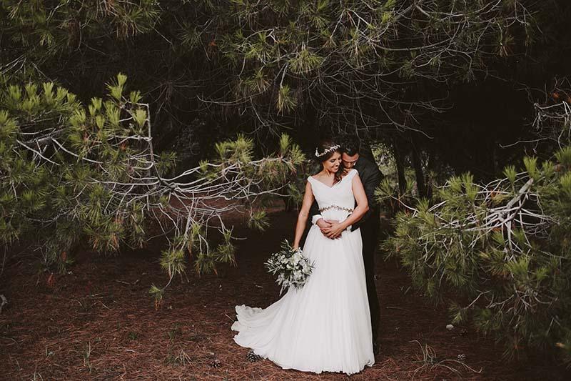 boda mediterranea bosque www.bodasdecuento.com