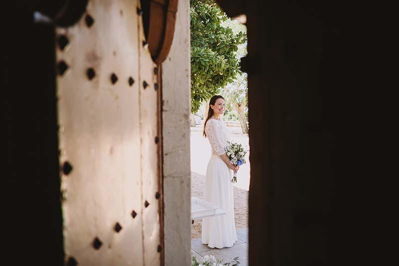 vestido novia estilo mediterraneo www.bodasdecuento.com