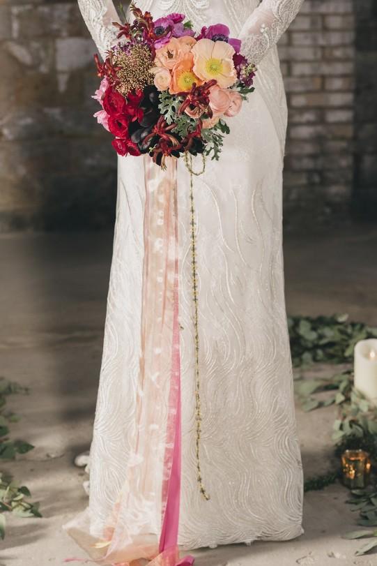 vestido novia yolancris www.bodasdecuento.com