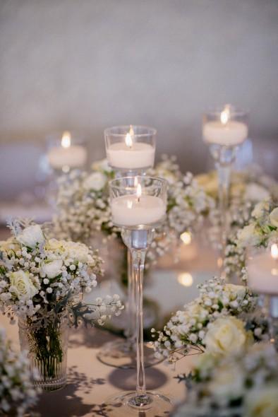 decoración mesa boda de invierno www.bodasdecuento.com