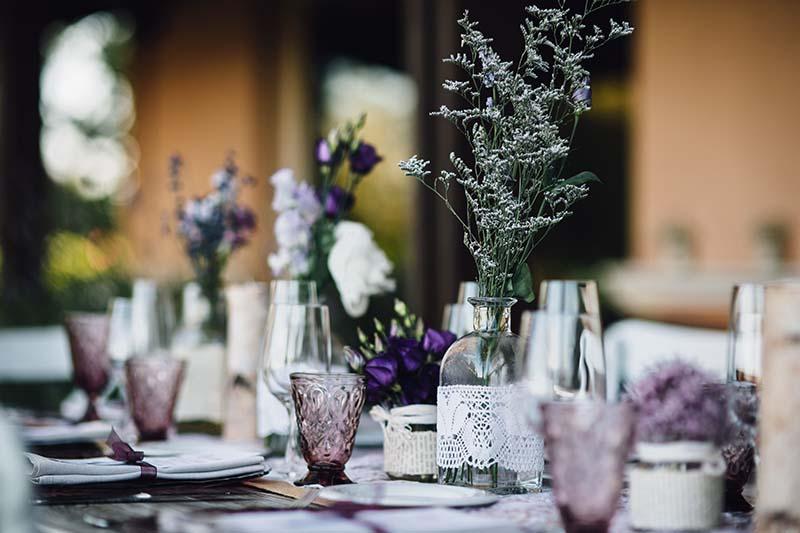 mesa presidencial boda www.bodasdecuento.com