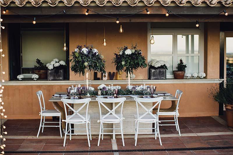 guirnaldas luz boda www.bodasdecuento.com