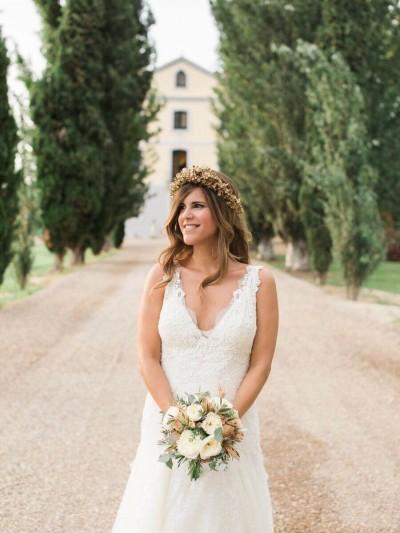 vestido de novia Yolan Cris www.bodasdecuento.com