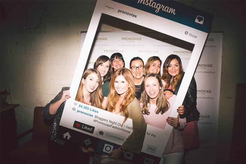 bloggers pronovias photocall