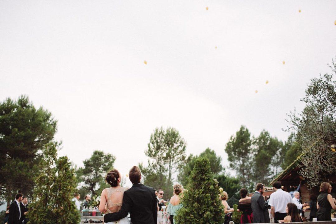 suelta globos boda www.bodasdecuento.com