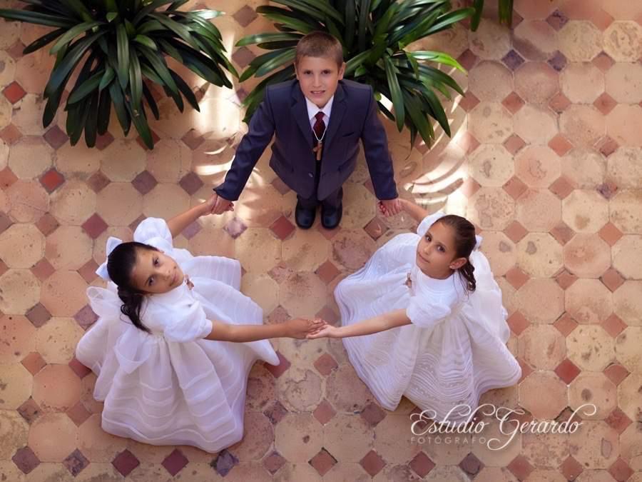 Rosa, Valentina y Juan José