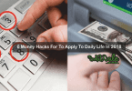 6 Money Hacks To Apply To Daily Life In 2018 1