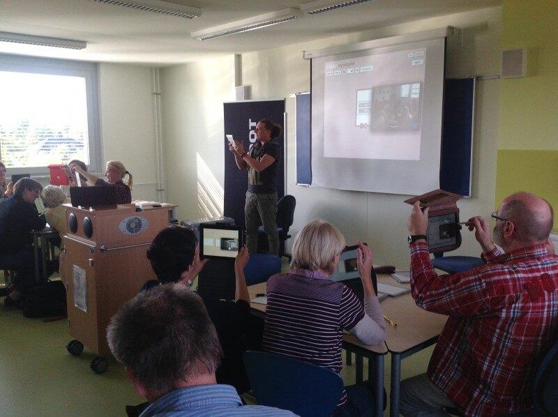 Lehrerfortbildung zum iPad