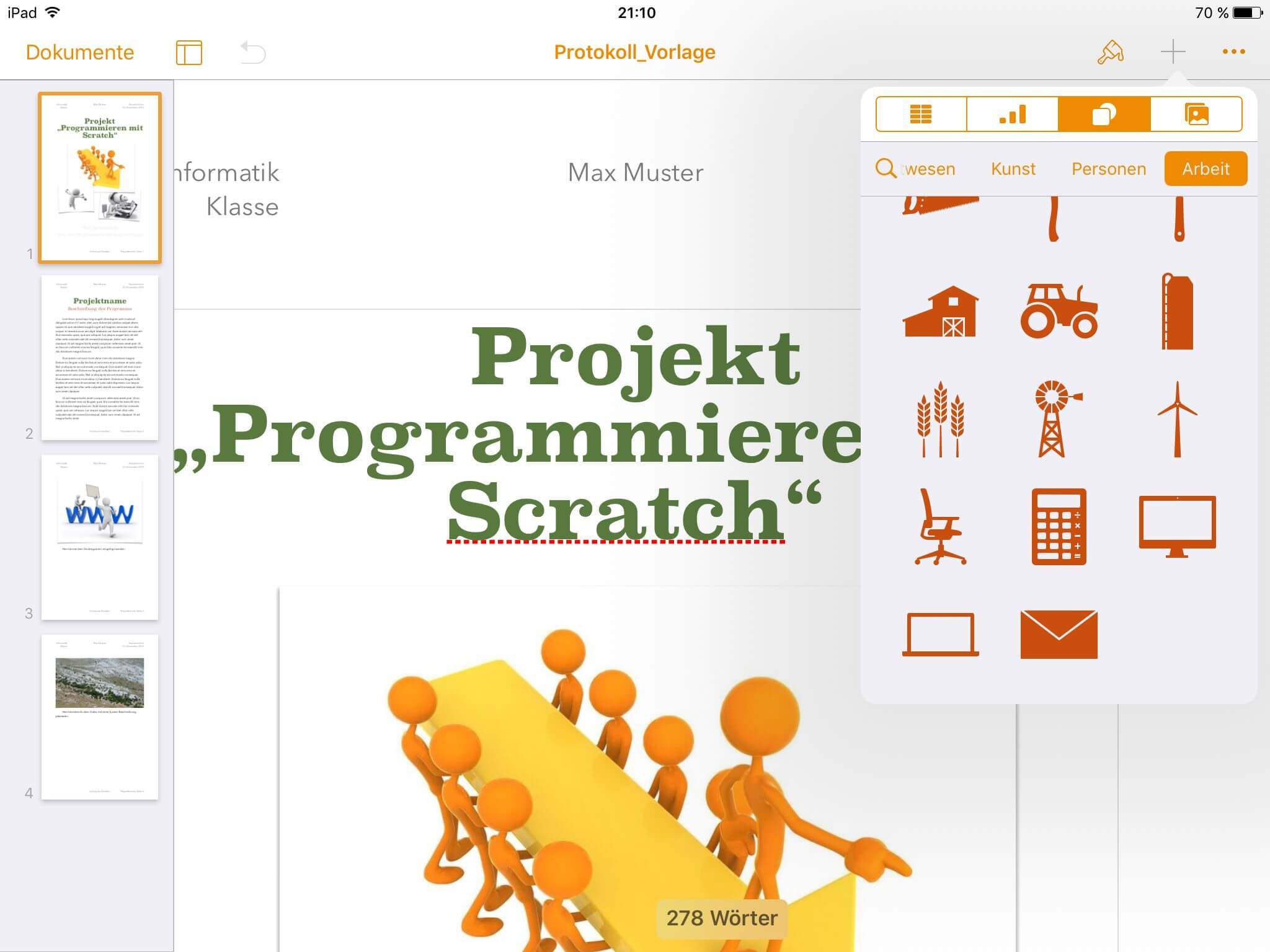 iWork als MS Office Alternative
