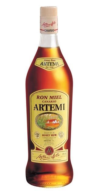 Ron Miel Artemi, delicioso ron tradicional canario