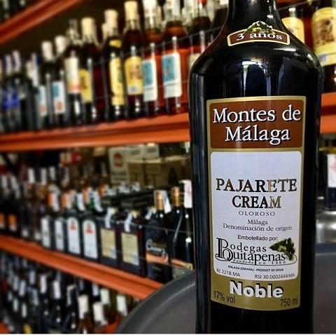 ¿Cómo es el vino Pajarete de Málaga?