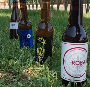 Cerveza Rosas, Guineu Amarillo, Dougall's IPA 4, Zeta Hell
