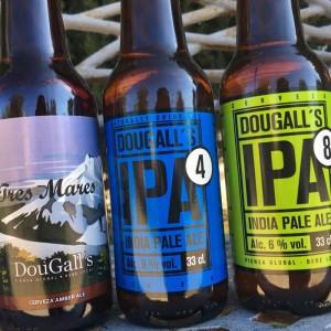 Dougall's IPA 4, Dougall's Tres Mares, Dougall's IPA 8