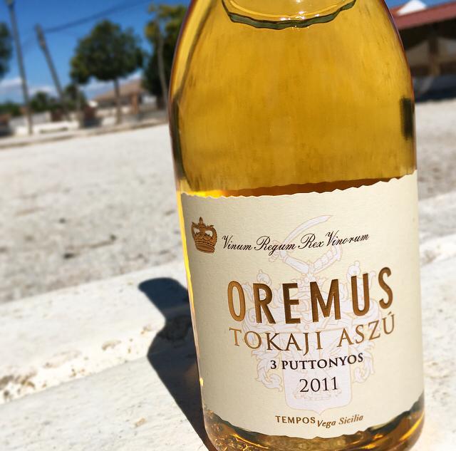 Tokaji Oremus, el rey del vino