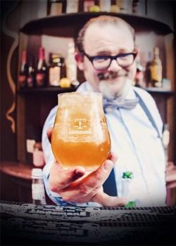 Jef Berben - cócteles con cerveza Lindemans