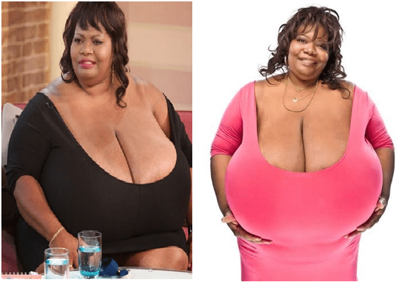 Guinness world record biggest boob join