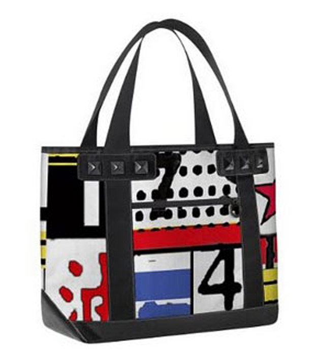upcycled tote bags from Josh Goldstein billboard collage