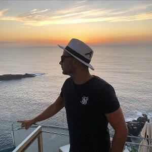 Sombrero panamá blanco