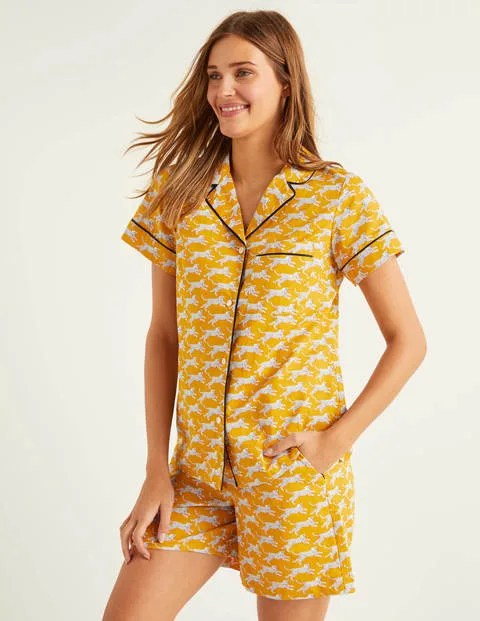 Yellow Pyjama Top