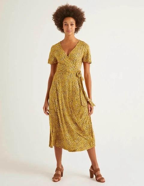 Yellow Jersey Dress
