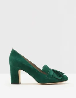 Pippa Heeled Loafers Boden