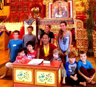 Bodhi Kids with Lama Karma