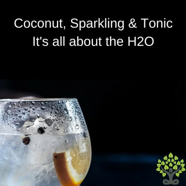 Coconut water Sparkling Water Tonic Water