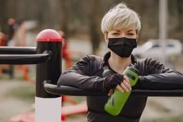 Bodhizone: Woman exercising