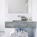 Inspiring concrete bathrooms