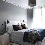 A soothing bedroom in hues of greys & blues…