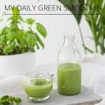 Mon smoothie vert préféré
