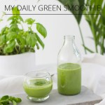 My daily green smoothie