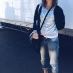 Elodie's boyfriend jeans
