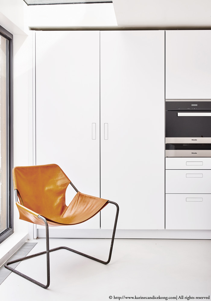 Our white kitchen | Renovations. Interior Design Project by Karine Candice Kong