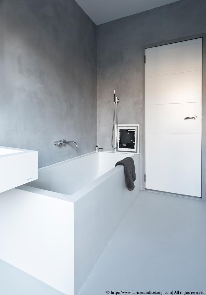 Our Tadelakt bathroom | Renovations. Interior Design Project by Karine Candice Kong Read on www.karinecandicekong.com