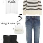 Les 5 incontournables mode de la semaine