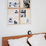 Natural bedroom styling in France