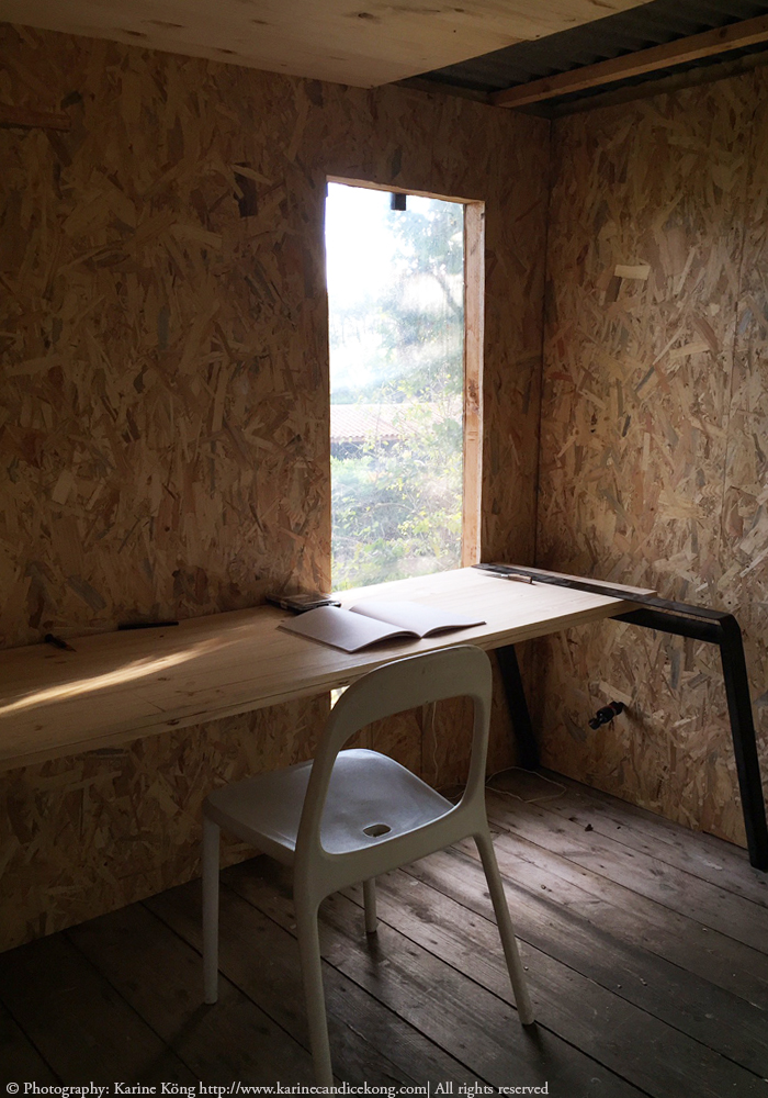 office space in a tree house
