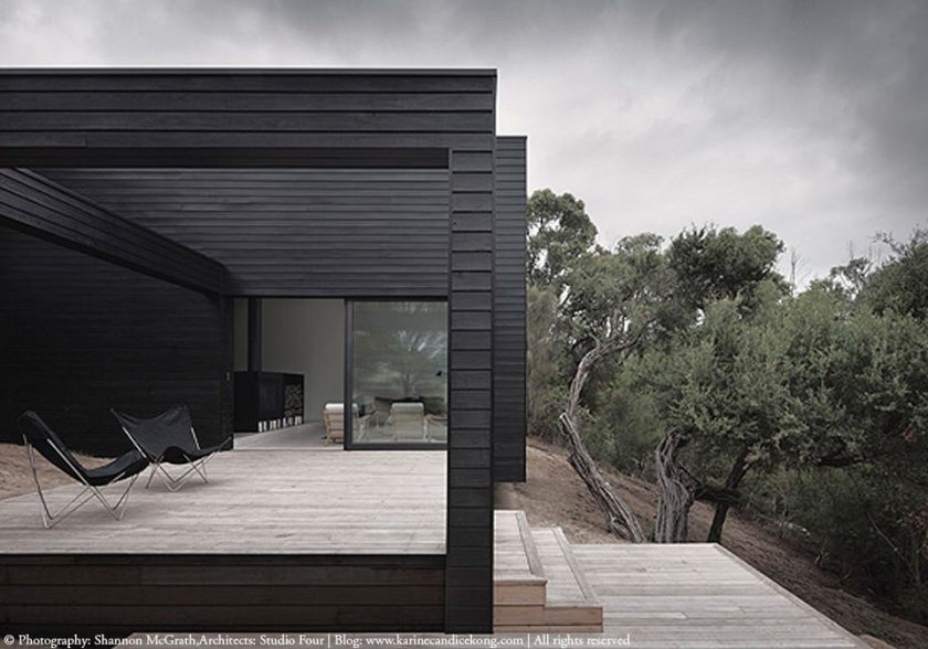HOUSE TOUR: A beautiful, architectural house with black cladding
