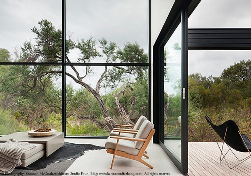 HOUSE TOUR- A beautiful, architectural house with black cladding. Read on...