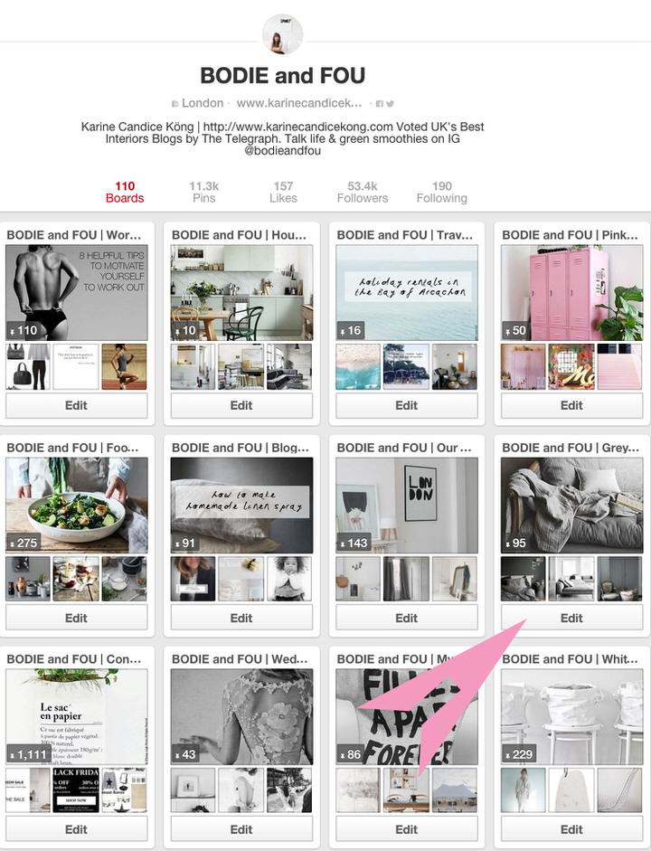 BODIE and FOU Tutorials: 5 tips to curate your Pinterest and why you should do these. Read on