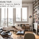 An eclectic family apartment in Paris
