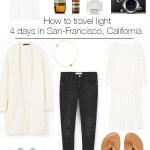 4 jours à San Francisco: comment voyager léger