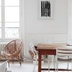 Le bel appartement parisien d'Elodie