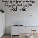 Food plan diary low in sugar* & gluten | Week 1