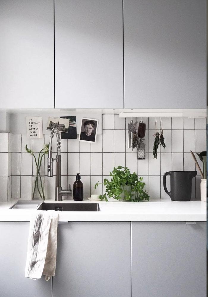 7 cuisines minimalistes et grises