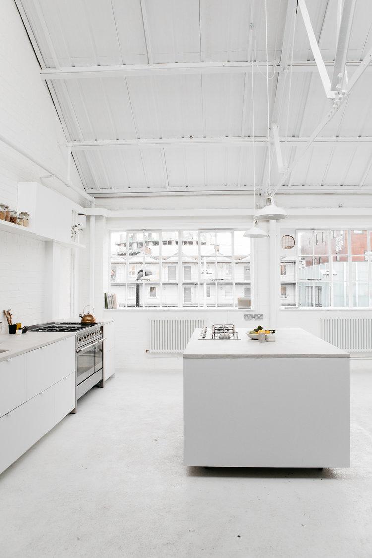 Rye London white kitchen